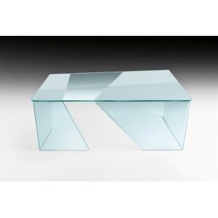Письменный стол Fraud из гнутого стекла