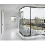 Зимний сад: использование гнутого стекла в строительстве зимнего сада.