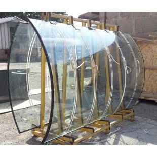стеклопакеты из молированного (гнутого) стекла