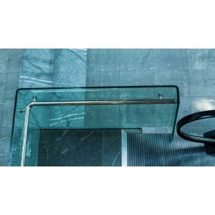 Перила для лестниц из гнутого стекла
