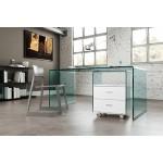 Новый взгляд на современную офисную мебель: мебель из стекла