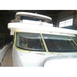 Гнутые стекла для яхт