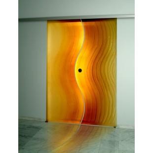 Декоративные стеклянные двери. Фьюзинг