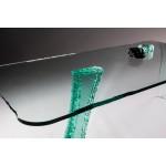 Варианты обработки края стеклянной мебели